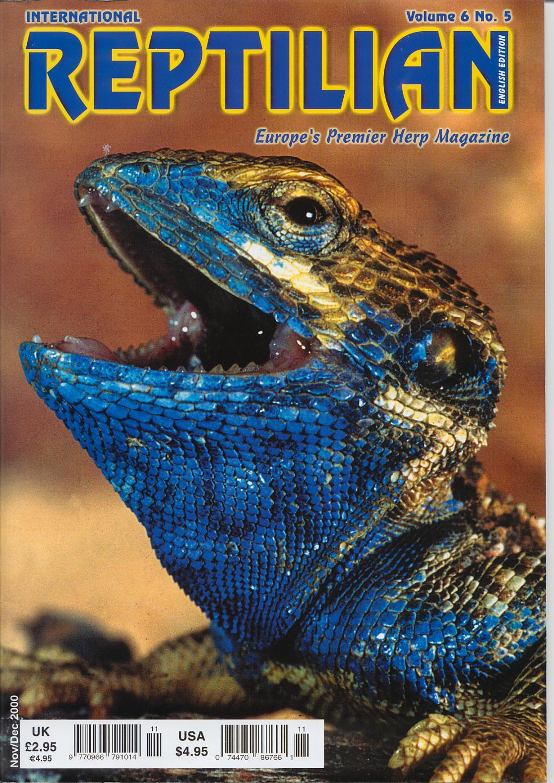 Cover of Reptilian 6(5)